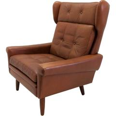 Svend Skipper Wingback Lounge Chair