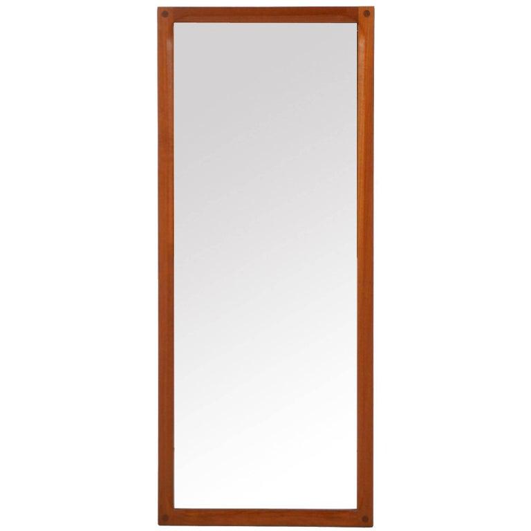 Aksel Kjersgaard Teak Mirror by Odder in Denmark 1