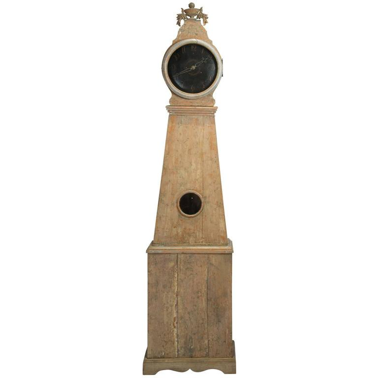 Swedish Tall Case Clock, circa 1810