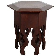 Octagonal Moorish Style Tamborete