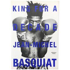 Jean Michel-Basquiat, King for a Decade, 1997 Book