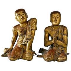 Giltwood Buddhist Apostles