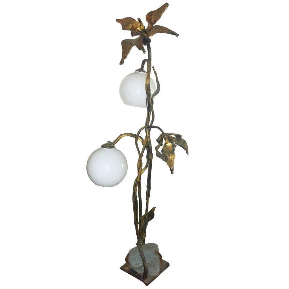 Italian Arts & Crafts Table Lamp