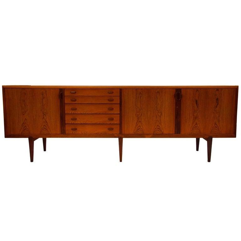 Rosewood Sideboard by Henry Rosengren Hansen for Brande Mobelindustrie