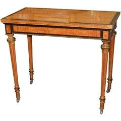 19th Century Louis XVI Game Table