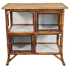 Victorian Bamboo Cabinet or Server