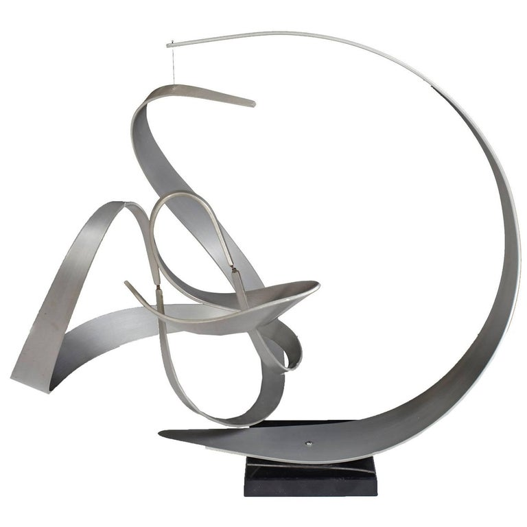 Abstract Kinetic Sculpture by John W Anderson
