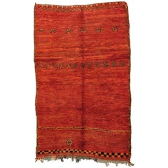 Red Moroccan Rug