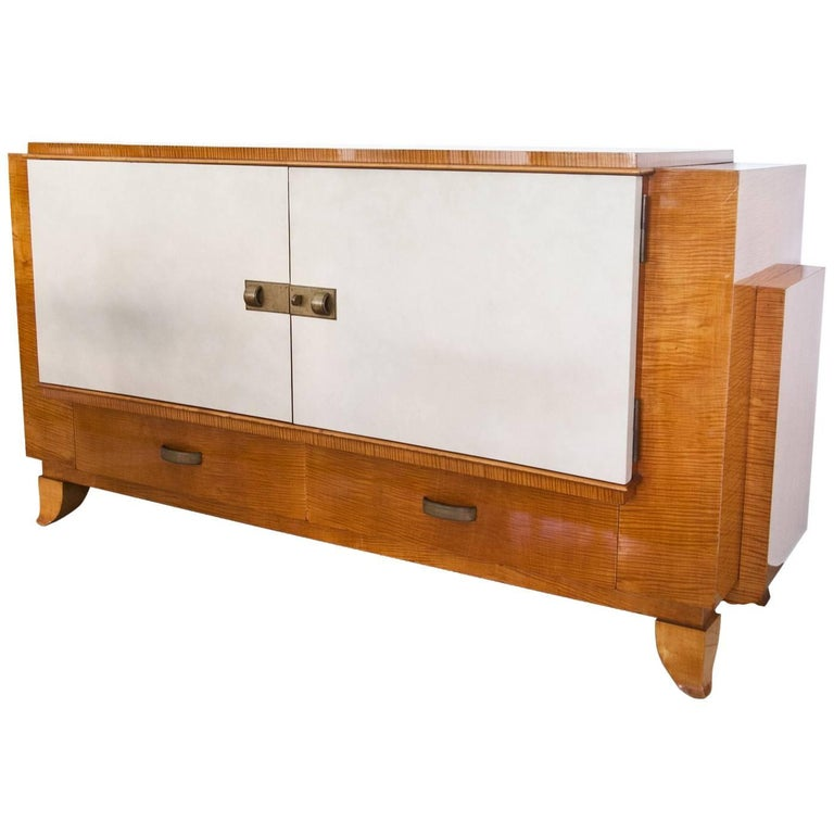 art deco sideboard france 1940s for sale at 1stdibs. Black Bedroom Furniture Sets. Home Design Ideas