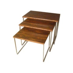Set of Midcentury Nesting Tables