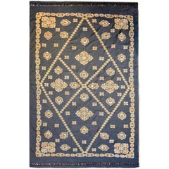 Skillfully Embroidered Late 20th Century Indian Suzani Textile