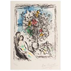 Marc Chagall, Le Petite Fenêtre Bleue, Saint Paul, 1974