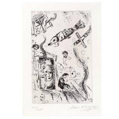 Lettre à Marc Chagall for Gallery Maeght, Paris 1969
