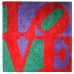 "Robert Indiana ""Love"" Carpet"