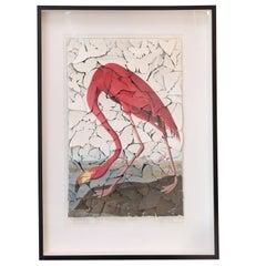 Butterfly Box Audubon Flamingo Print