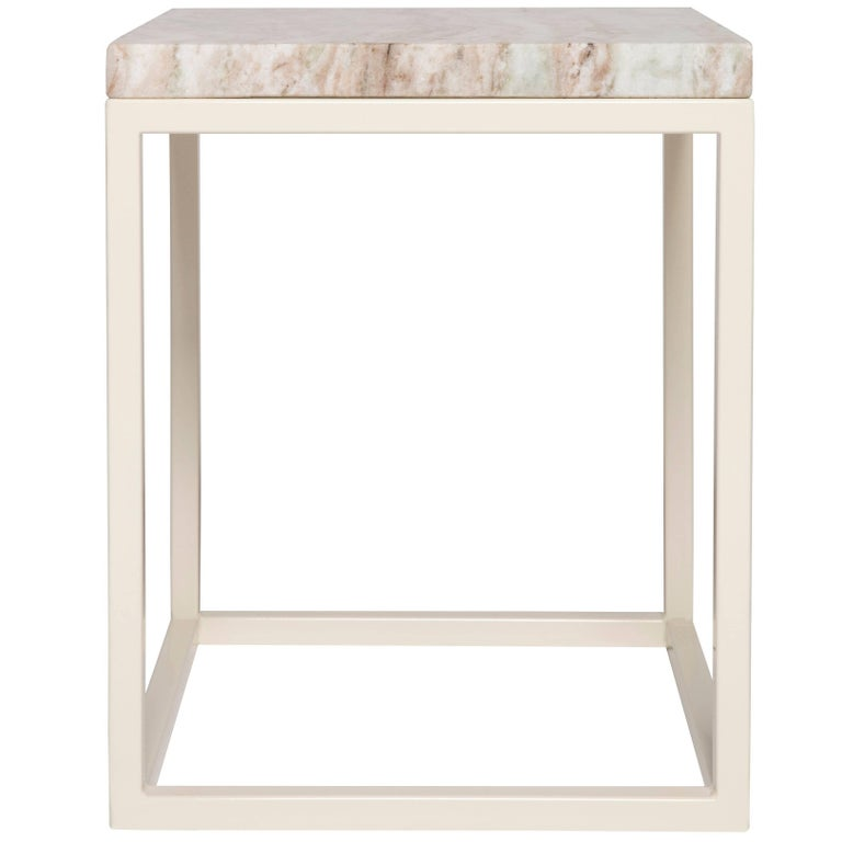 Pieces Frame Modern Granite Stone Customizable Side Table Bedside End Table