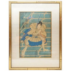 19th Century Impression of Woodblock Print by Utagawa Kunisada