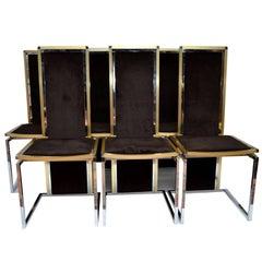 Rome Rega Set of Six Dining Room Chairs