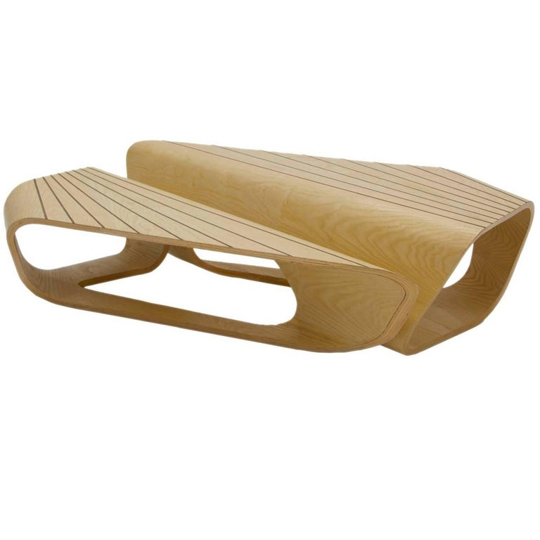 Abanico Bentwood Nesting Coffee Tables For Sale At 1stdibs