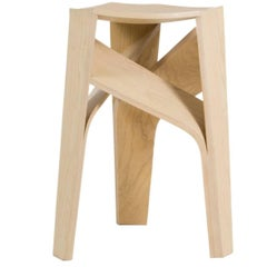 Aero, Three-Legged Bentwood Stool