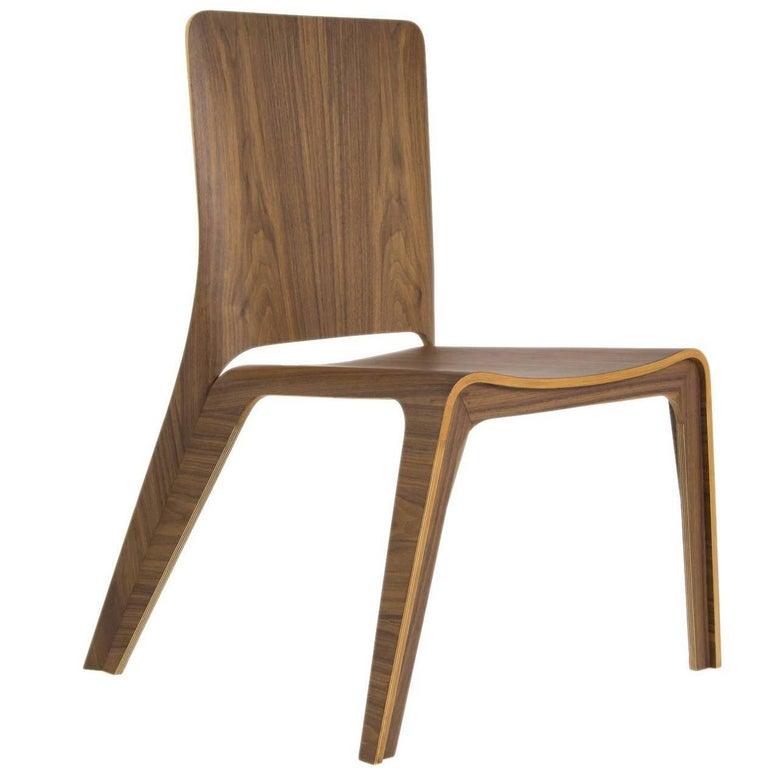 """""""Aria"""" Bentwood Stackable Lightweight Dinning Chair"""