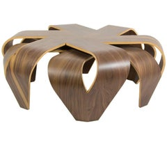 """Maria"" Bentwood Coffee Table in Matt Finish by Victor Aleman for Left"