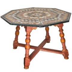 Spectacular, Large Italian Specimen Marble Centre Table