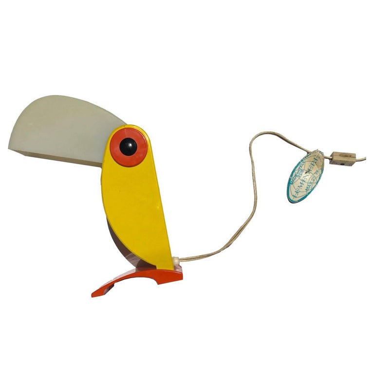 Luminiere Toucan Table Lamp For Sale