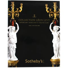 Sotheby's Collection Leon Levy, Important Moblier Et Objects D'Art