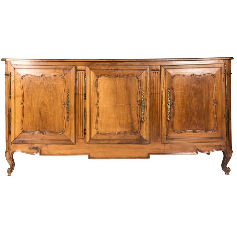 Early 20th Century French Three-Door Buffet