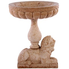19th Century Rose Verona Marble Fountain