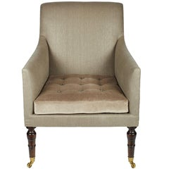 'Hope' Library Chair by Ensemblier, Custom-Made and Upholstered