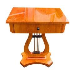 Biedermeier Style Sewing Table
