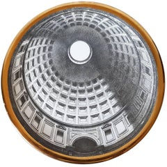 """Vintage Plate from the Series of Church Domes """"Cupole D'italia"""""""