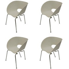 Set of Four Tom Vac Chairs by Ron Arad