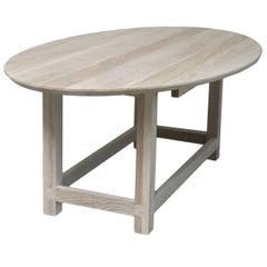 Mark Table bleached massive oak