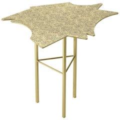 Side Table in Brass