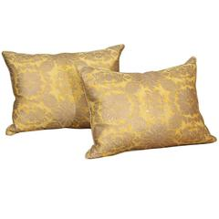 Yellow Fortuny Pillows