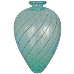 """Bertil Vallien Kosta Boda Sweden """"Fenicio"""" Glass Vase"""