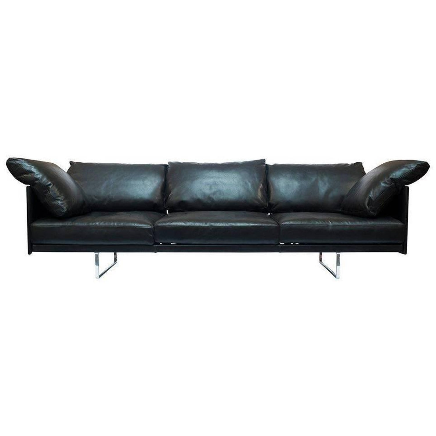 "Sofa ""Toot"" by Manufacturer Cassina in Aluminum and 100% Genuine Leather For Sale at 1stdibs"