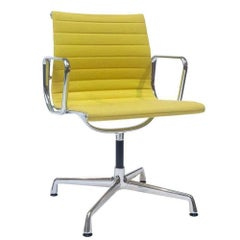 """Armchair """"EA 103"""" by Manufacturer Vitra in Aluminum Finsihed in Fabric"""