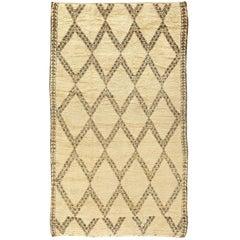 Vintage Moroccan Pile Rug