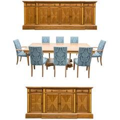 David Linley Bespoke Dining Room Suite