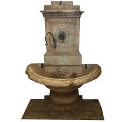 Antique Stone Fountain