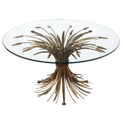 'Sheaf of Wheat' Vintage Coco Chanel Coffee Table