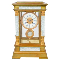 French Ormolu Mantel Clock, 19th Century