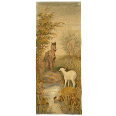 Vintage French Aesopian Tapestry