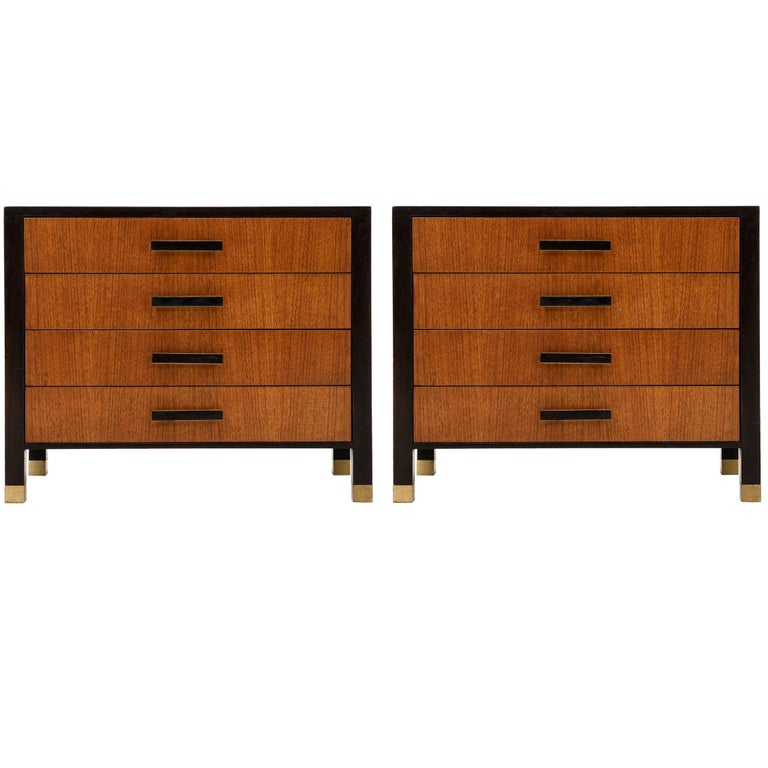 Pair of Harvey Probber Nightstand or Ends Cabinets For Sale
