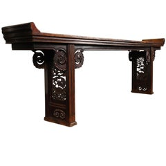 Large Chinese Altar Table or Scholars Table