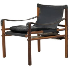 Mid-Century Arne Norell Sirocco Safari Lounge Chair
